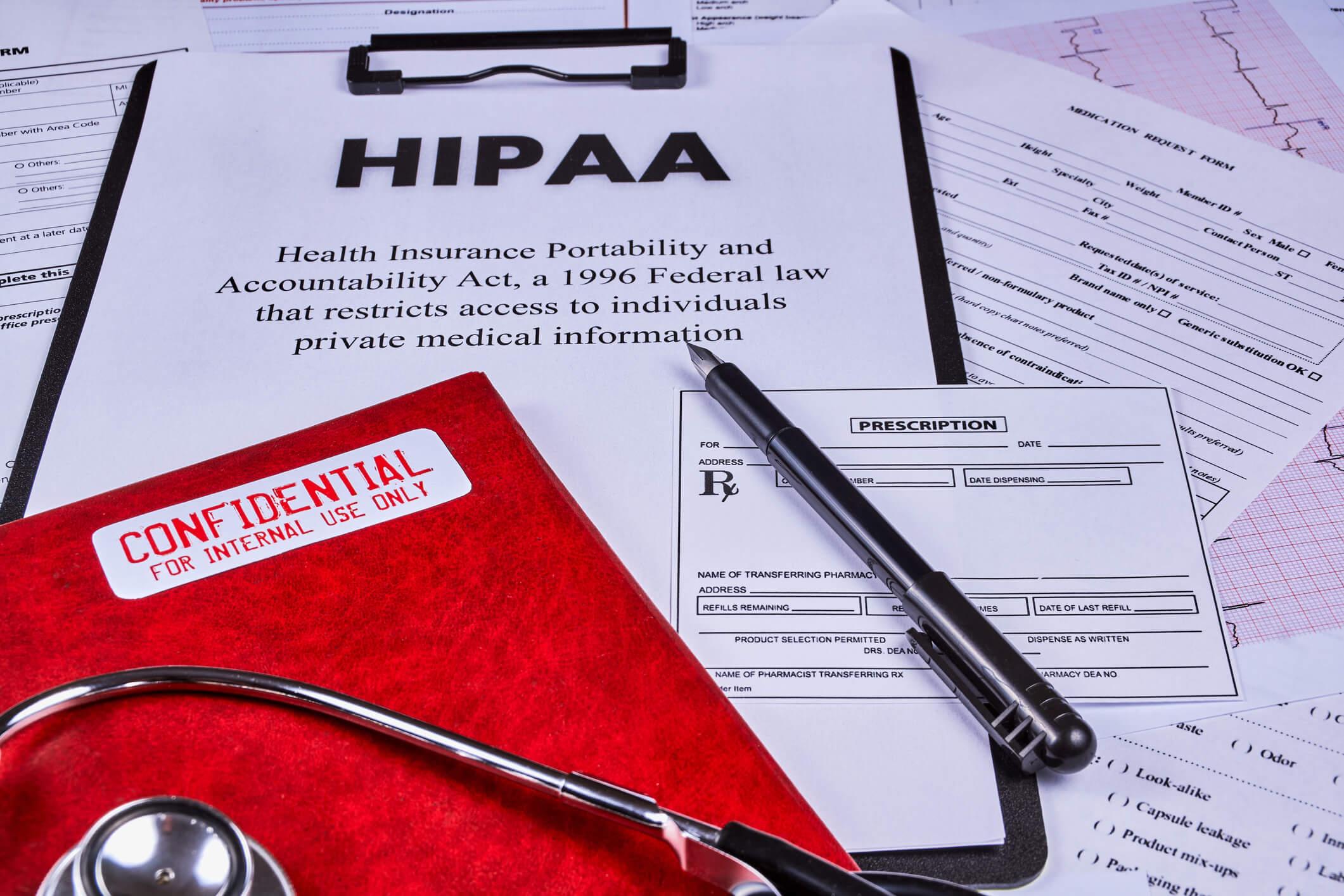 HIPAA live chat